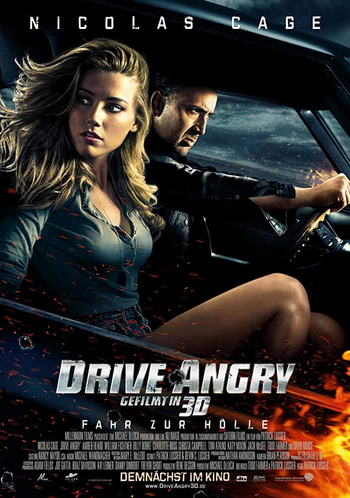 Drive Angry 2011 BRRip Dual Audio Movie With ESubs | [Hindi+English] | 720p | 800MB | Watch Online and Download