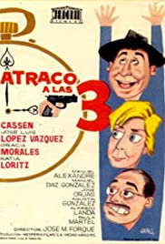 Atraco a las tres (1962) Poster - Movie Forum, Cast, Reviews