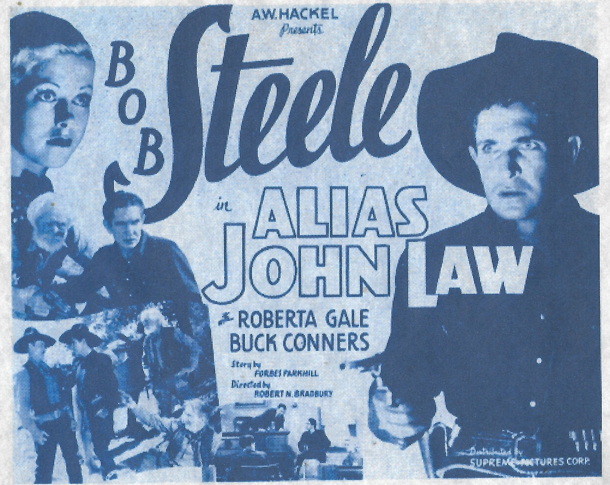 Buck Connors, Earl Dwire, Roberta Gale, and Bob Steele in Alias John Law (1935)