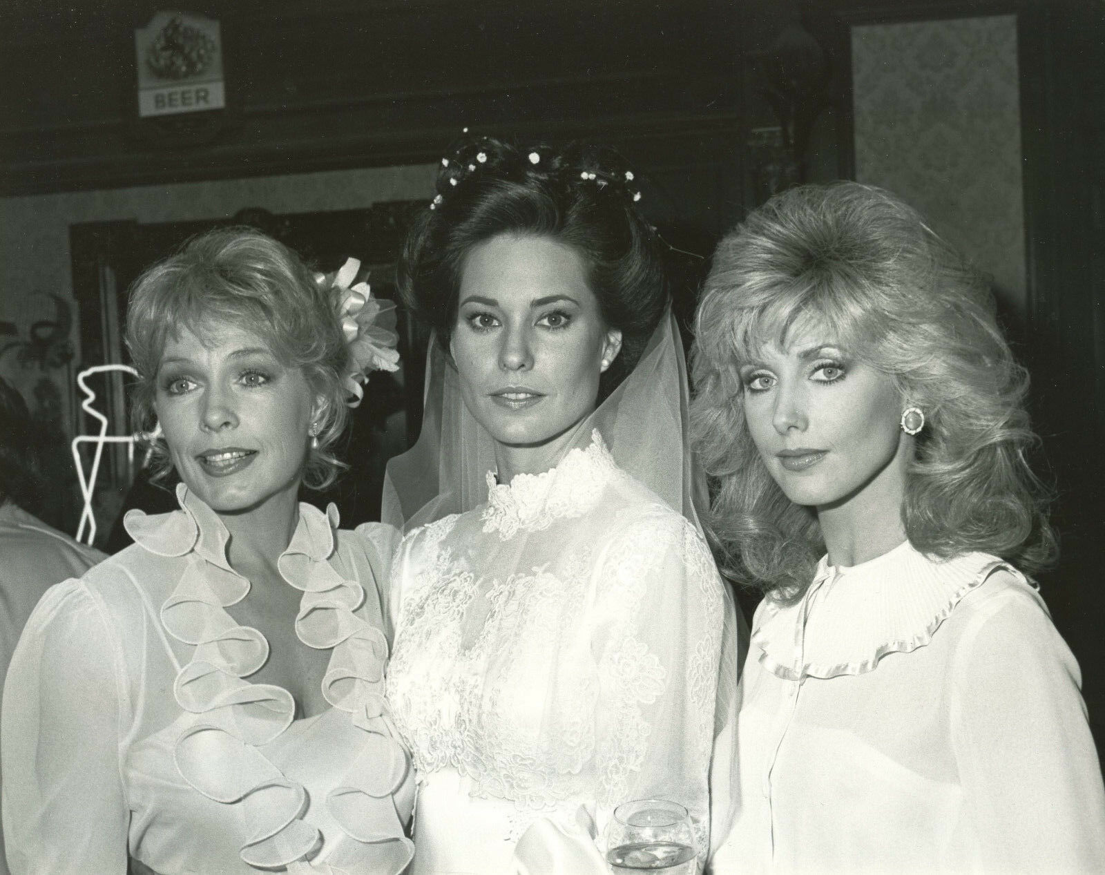 Morgan Fairchild, Stella Stevens, and Cristina Raines in Flamingo Road (1980)