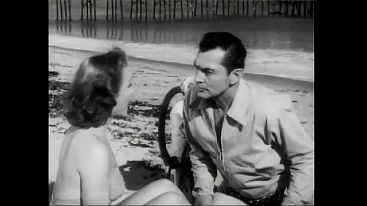 Cathy Downs and Kent Taylor in The Phantom from 10,000 Leagues (1955)
