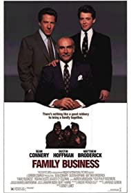 Matthew Broderick, Sean Connery, and Dustin Hoffman in Family Business (1989)