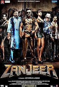Sanjay Dutt, Atul Kulkarni, Prakash Raj, Priyanka Chopra Jonas, Ram Charan, and Mahie Gill in Zanjeer (2013)