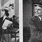Ted North, Oscar O'Shea, and Lynne Roberts in The Bride Wore Crutches (1940)