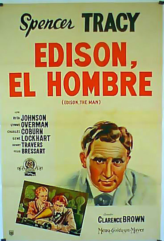 Spencer Tracy and Rita Johnson in Edison, the Man (1940)