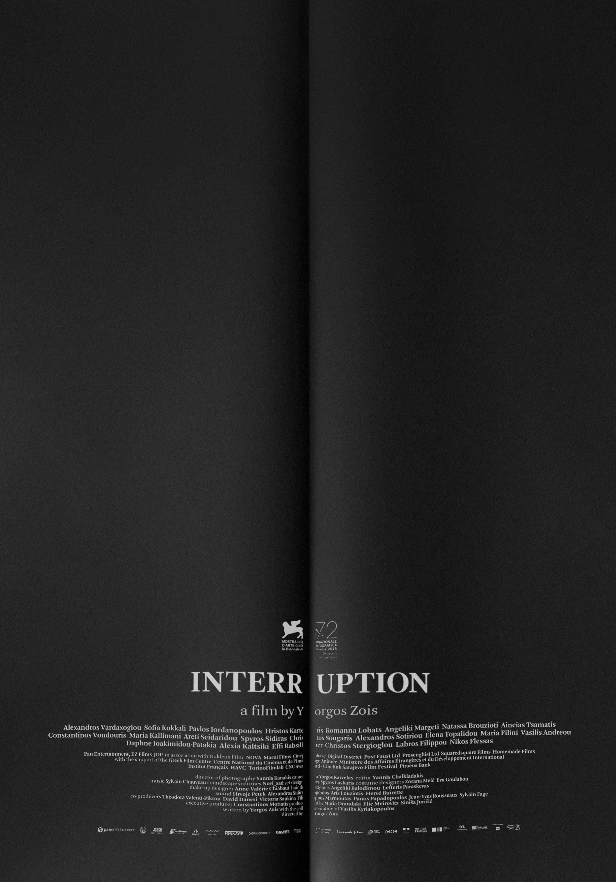 Risultati immagini per INTERRUPTION FILM POSTER