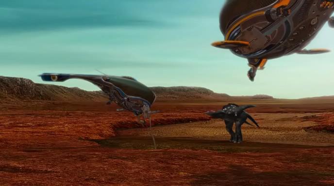 Alien planet images 1