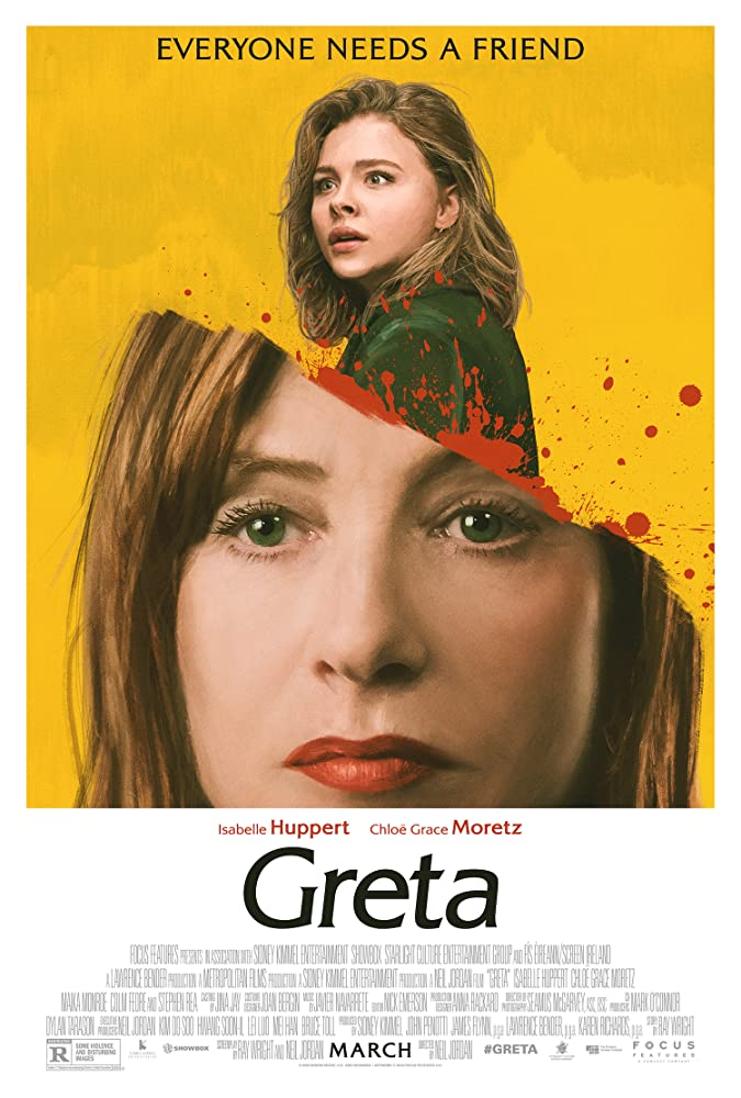 Isabelle Huppert and Chloë Grace Moretz in Greta (2018)