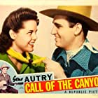 Gene Autry and Ruth Terry in Call of the Canyon (1942)