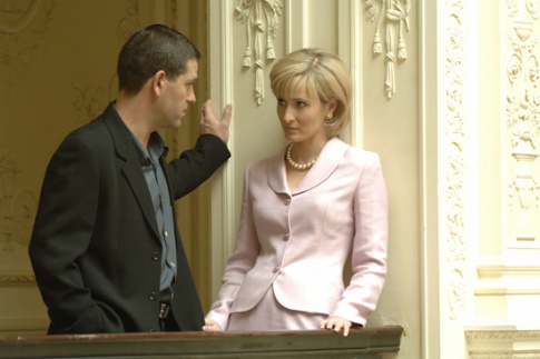 Patrick Baladi and Genevieve O'Reilly in Diana: Last Days of a Princess (2007)