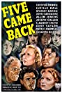 Five Came Back (1939) Poster