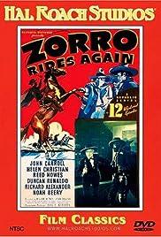 Zorro Rides Again Poster