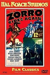 Primary photo for Zorro Rides Again