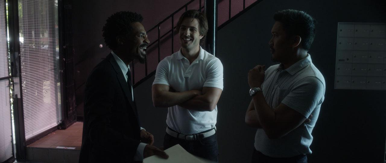 Dante Basco, Eddie Steeples, and Paul Vandervort in Limelight (2017)