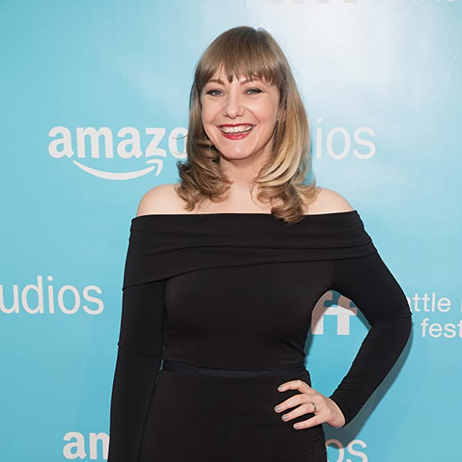 Emily V. Gordon at an event for The Big Sick (2017)