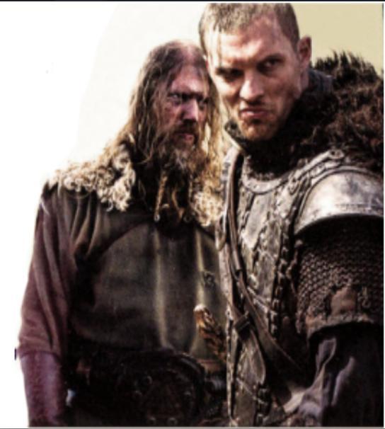 Ed Skrein and Johan Hegg in Northmen - A Viking Saga (2014)