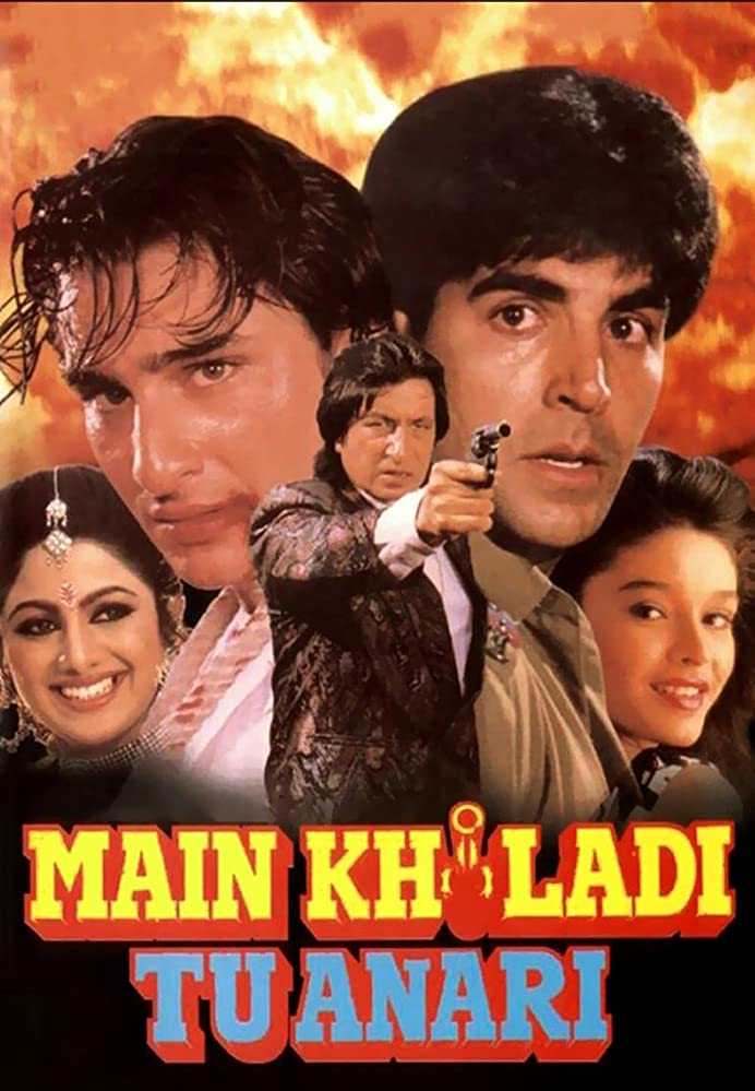 Main Khiladi Tu Anari 1994 Full Movie Hindi 450MB WEB.DL 480p Download