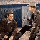 Bill Elliott and Forrest Tucker in Hellfire (1949)
