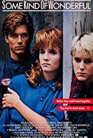 Mary Stuart Masterson, Eric Stoltz, and Lea Thompson in Some Kind of Wonderful (1987)