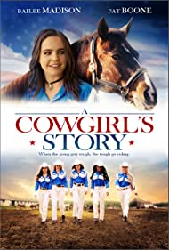 Pat Boone, Bailee Madison, and Chloe Lukasiak in A Cowgirl's Story (2017)
