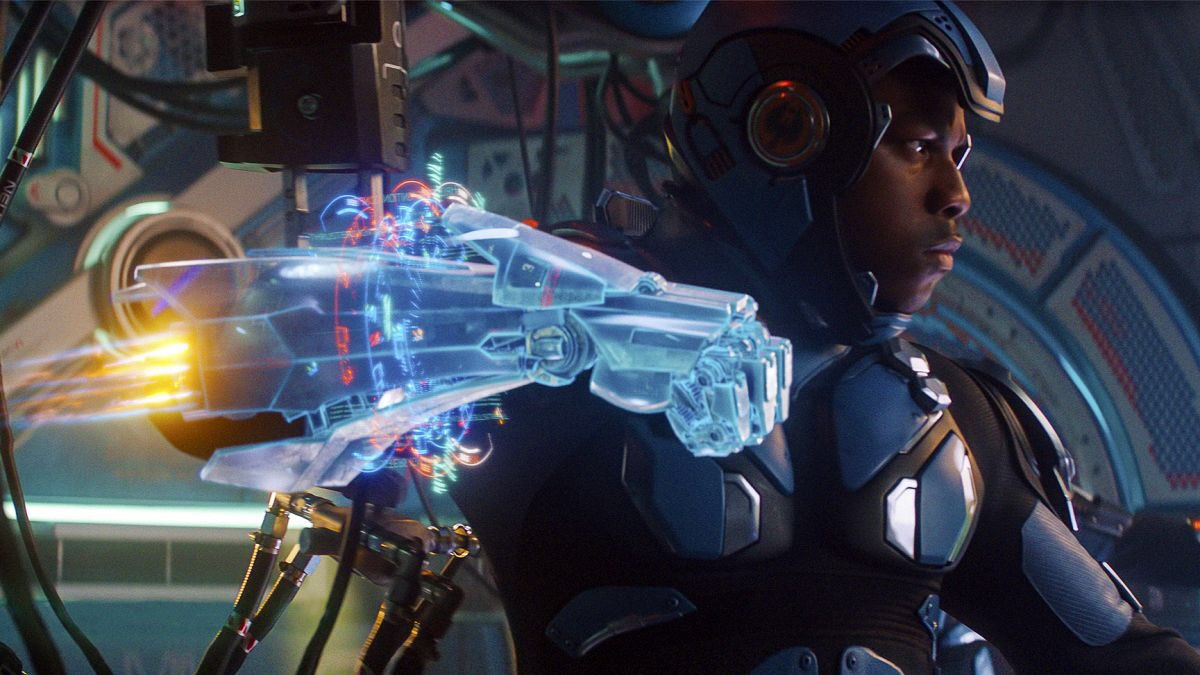 John Boyega in Pacific Rim: Uprising (2018)