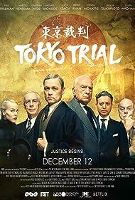 Michael Ironside, Paul Freeman, Jonathan Hyde, Irrfan Khan, Hadewych Minis, and Julian Wadham in Tokyo Trial (2016)