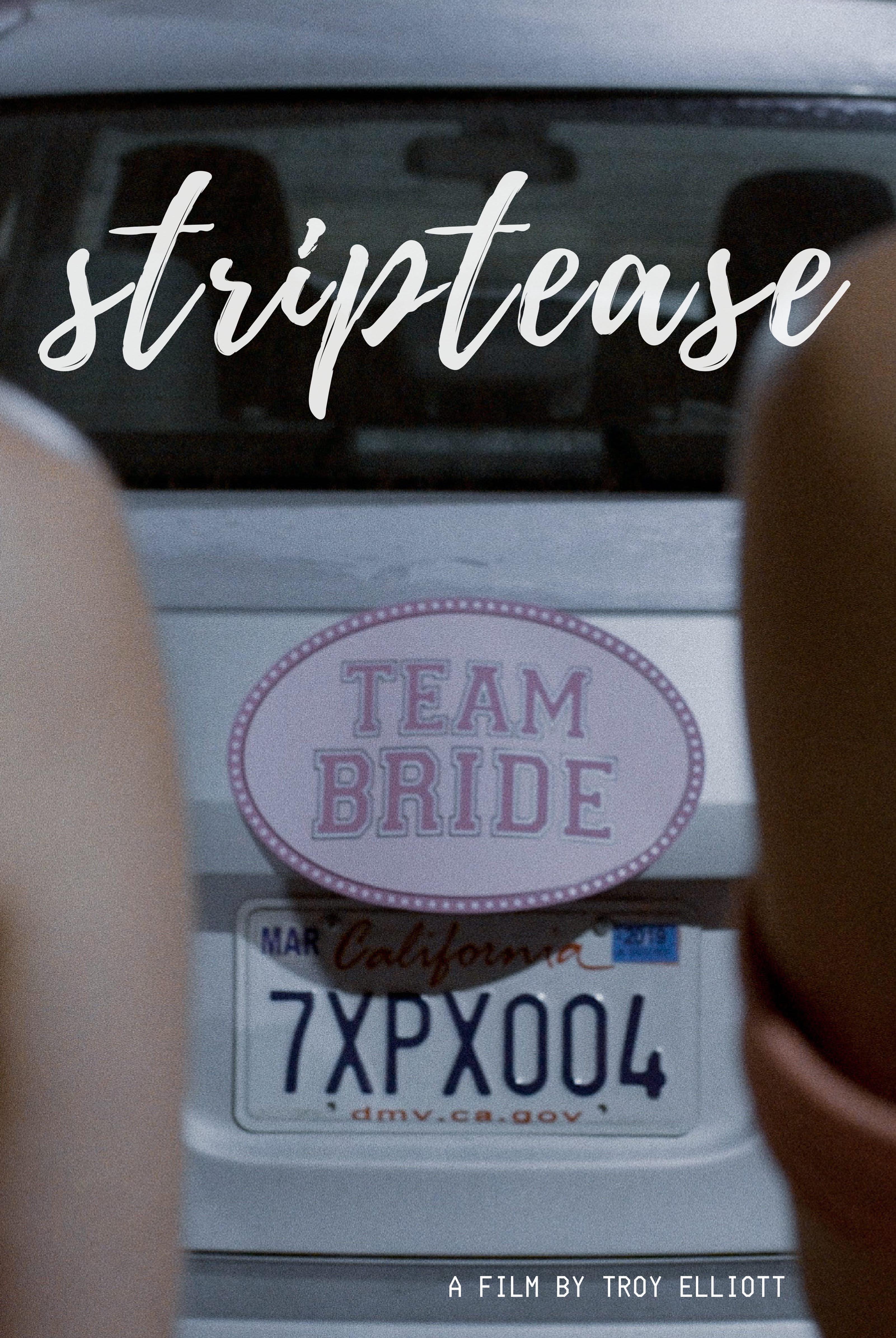 Label strip tease