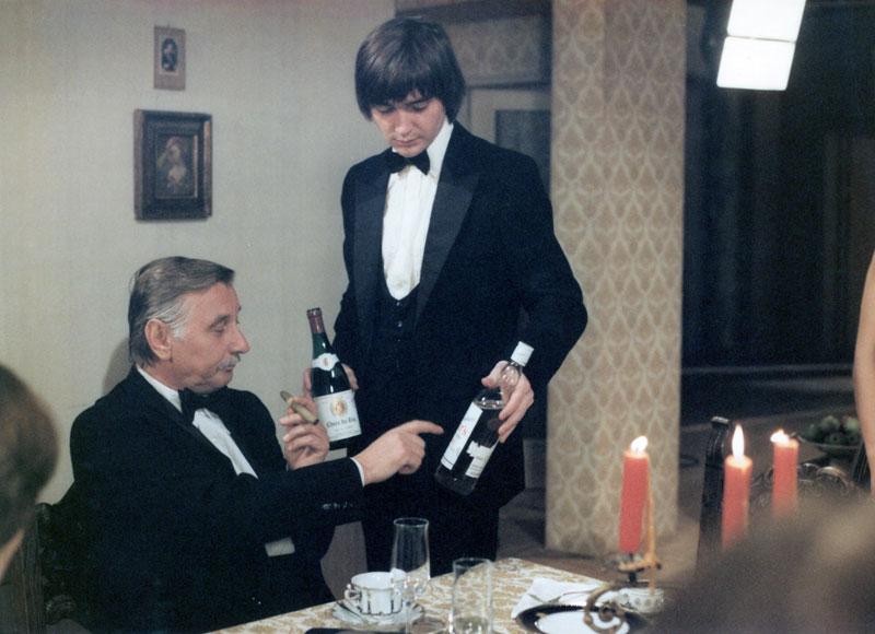 Vladimír Dlouhý and Josef Langmiler in Mezicas (1981)