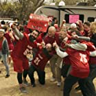 Barry Switzer and Jake Washburn in The Turkey Bowl (2019)