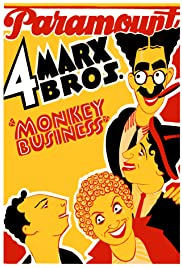Monkey Business (1931) Poster - Movie Forum, Cast, Reviews