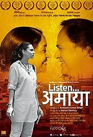 Listen... Amaya Poster