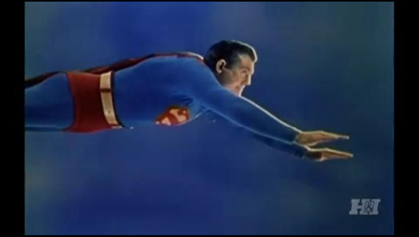 George Reeves in Adventures of Superman 1952