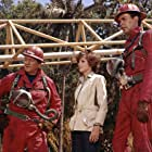 John Wayne, Jim Hutton, and Katharine Ross in Hellfighters (1968)