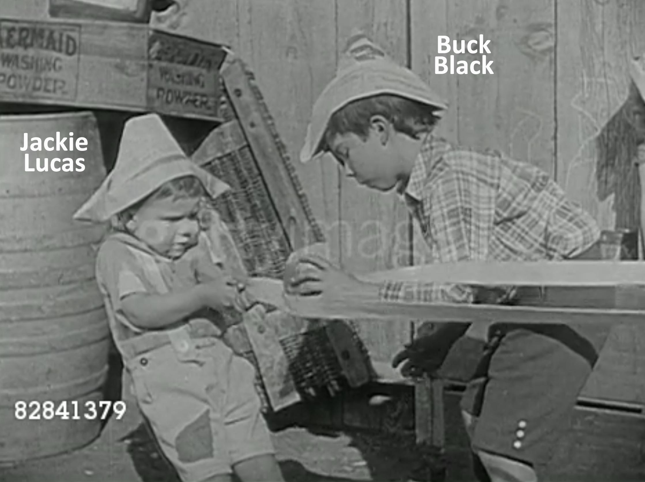 Buck Black and Jackie Lucas in The Hollywood Kid (1924)