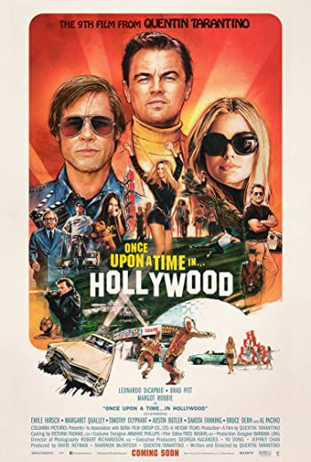 Once Upon a Time In Hollywood 2019 Full Movie Download 300MB 480p HDRip