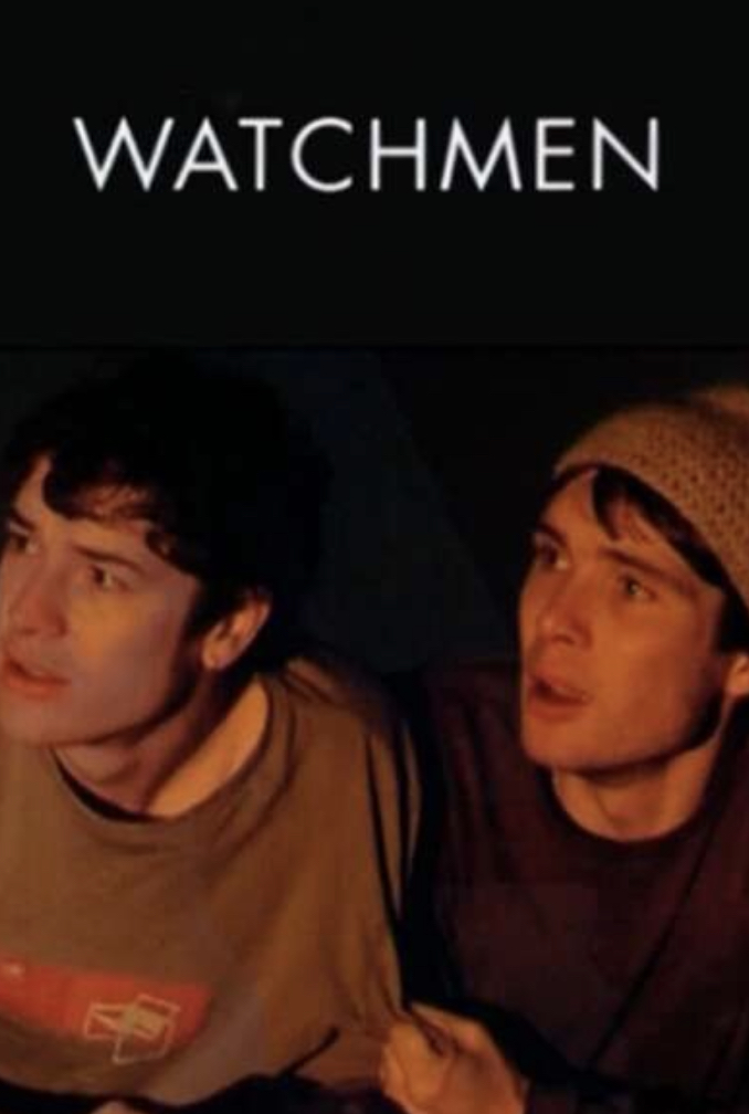 Cillian Murphy and Barry Ward in Watchmen (2001)
