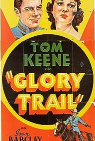 Joan Barclay and Tom Keene in The Glory Trail (1936)