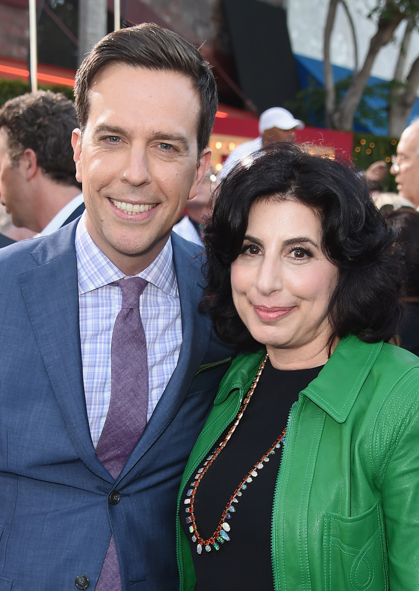 Ed Helms and Sue Kroll at an event for Vacation (2015)