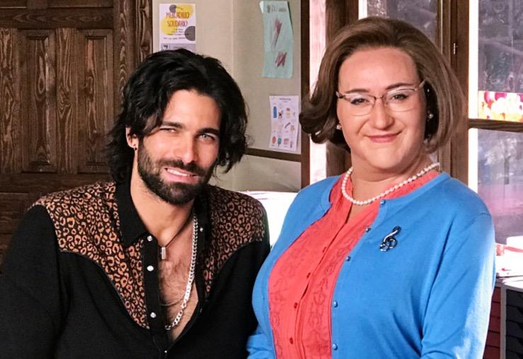 Carlos Santos and Rubén Cortada in Ella es tu padre (2017)