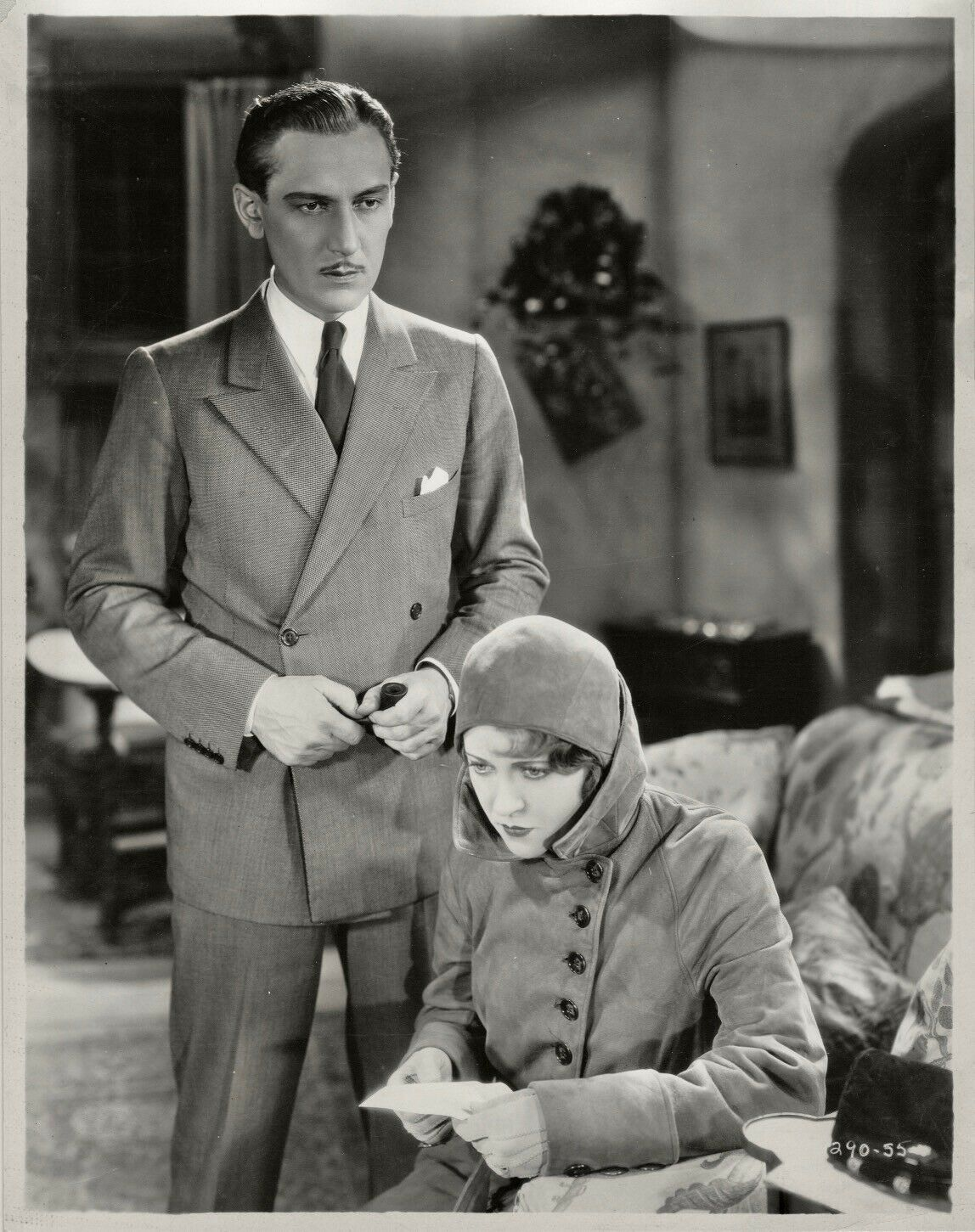 Ruth Chatterton and Paul Lukas in Unfaithful (1931)