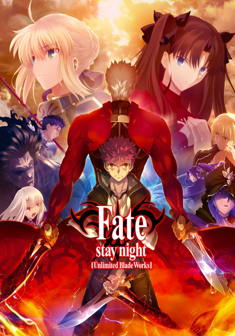 Fate Stay Night Unlimited Blade Works Tv Series 2014 Imdb