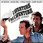Jacques Brel and Lino Ventura in L'aventure, c'est l'aventure (1972)