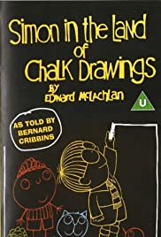 Simon in the Land of Chalk Drawings Poster