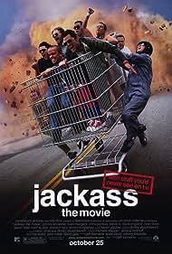 Jason 'Wee Man' Acuña, Ryan Dunn, Dave England, Johnny Knoxville, Bam Margera, Ehren McGhehey, Chris Pontius, Steve-O, and Preston Lacy in Jackass: The Movie (2002)