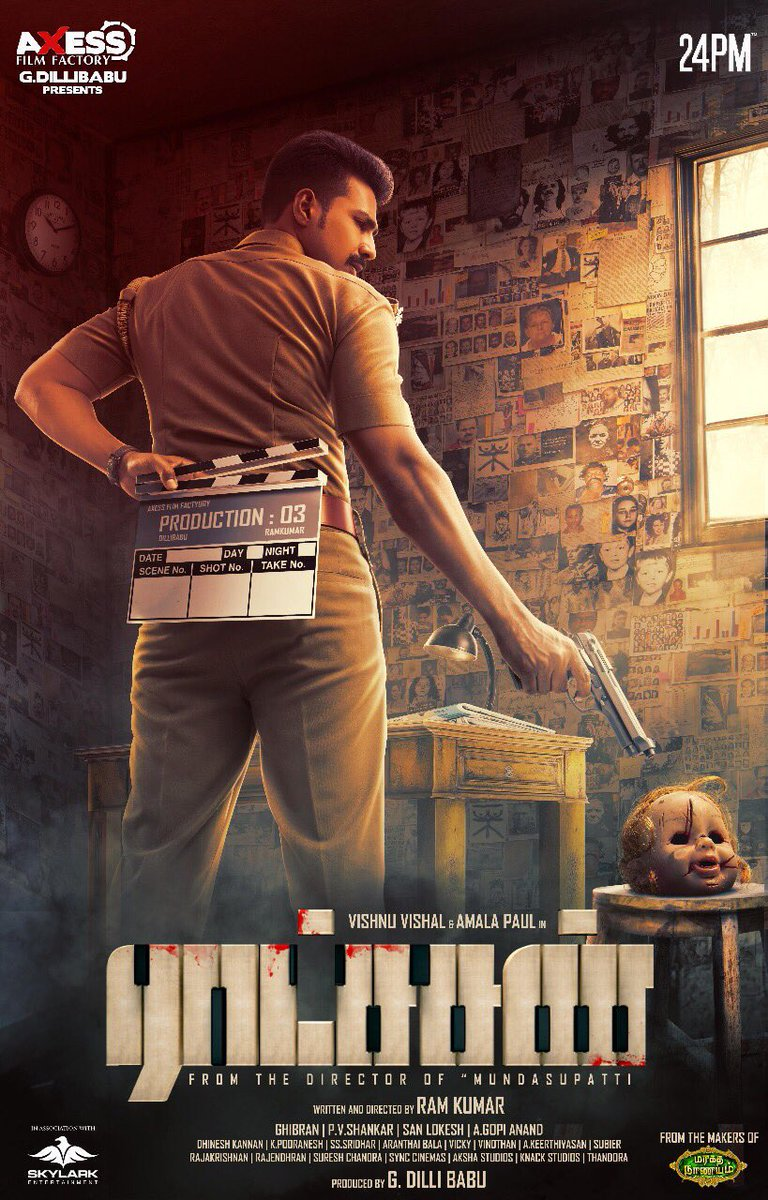 Ratsasan (2018) Tamil WEB-HDRip – HEVC | 480P | 720P – x264 – 200MB | 400MB | 700MB | 860MB | 1.4GB – Download With Bangla Subtitle