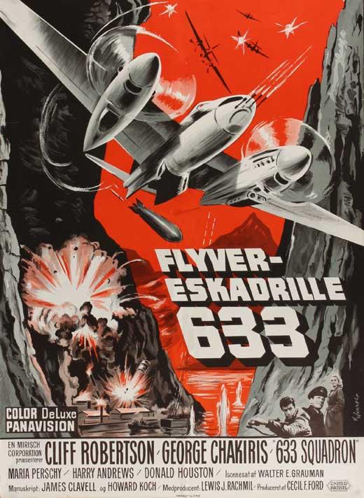 633 폭격대 포스터