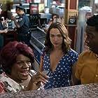 Tina Fabrique, Suraj Sharma, Violett Beane, and Brandon Micheal Hall in God Friended Me (2018)