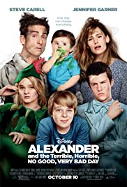 alexander and the terrible horrible no good very bad day 2014