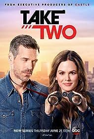 Eddie Cibrian and Rachel Bilson in Take Two (2018)