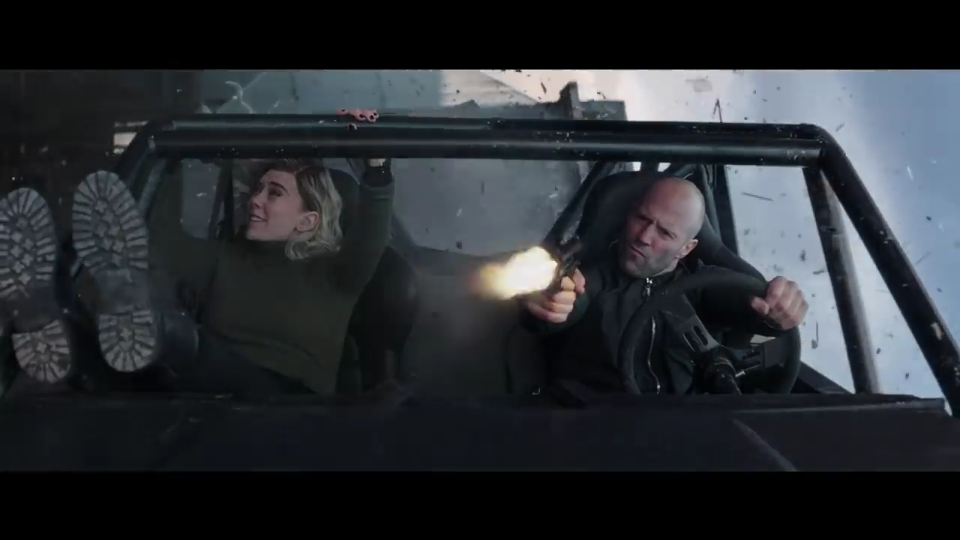 Jason Statham and Vanessa Kirby in Fast & Furious Presents: Hobbs & Shaw (2019)
